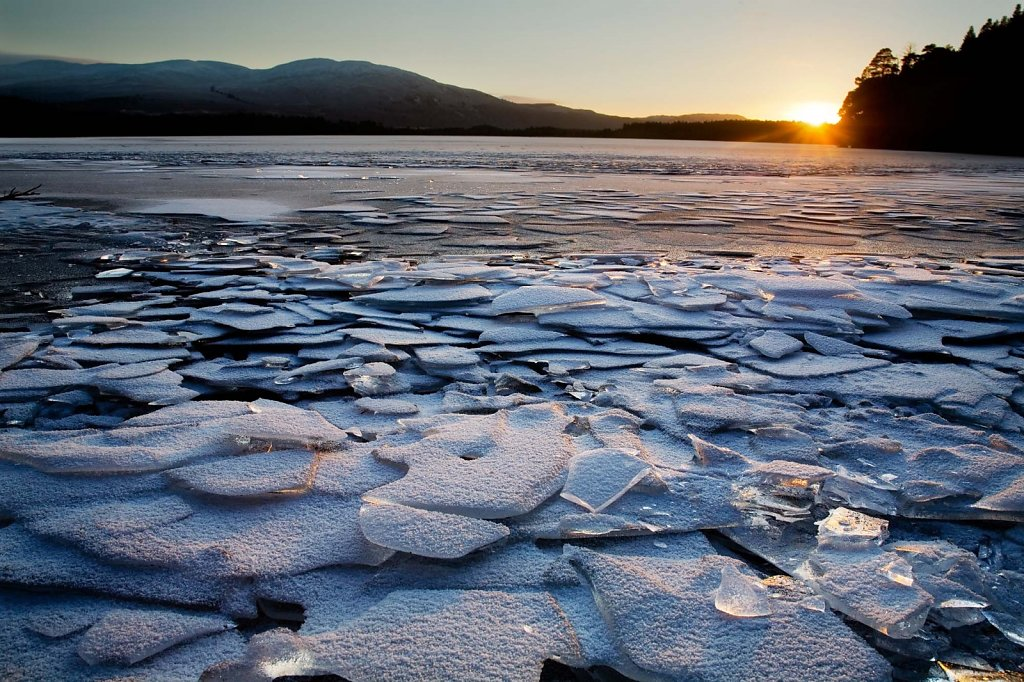 Ice sunset 3
