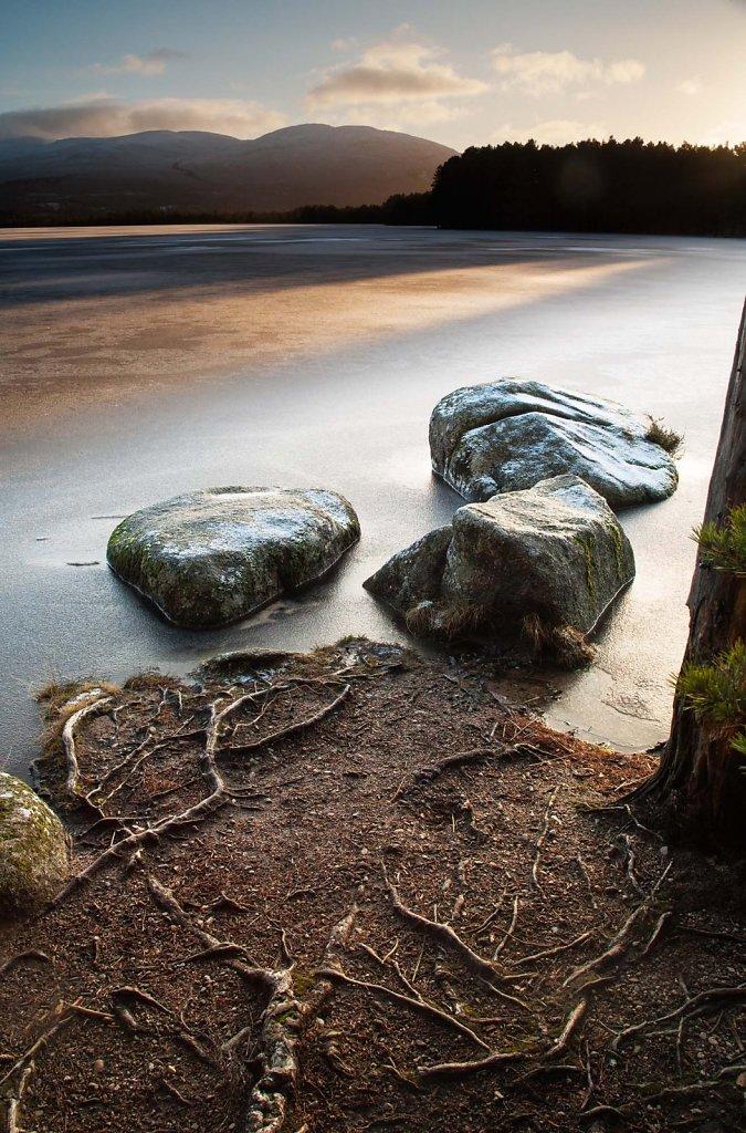 """""""Last Light"""", Loch Garten."""