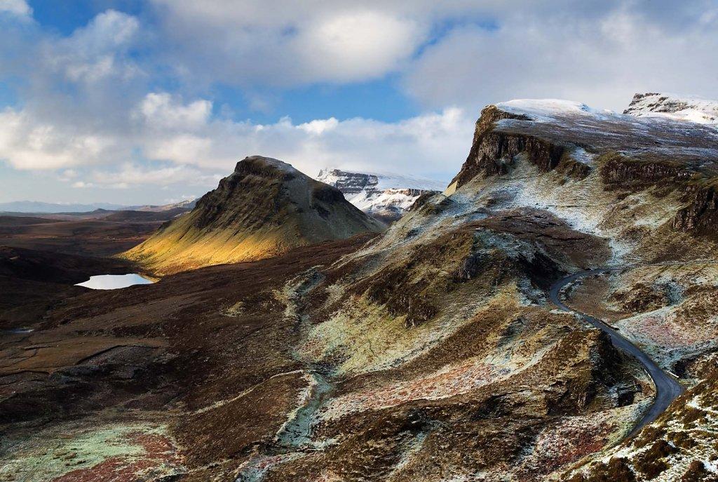 Enchanted ridge, Trotternish