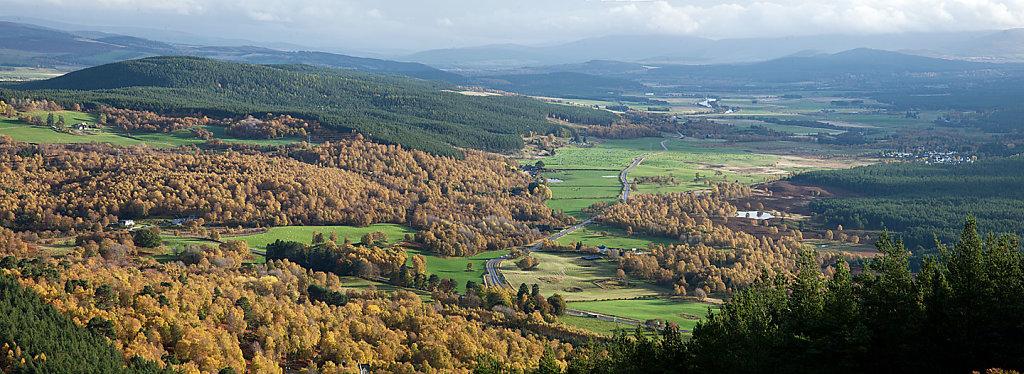 Strathspey Autumn Panorama
